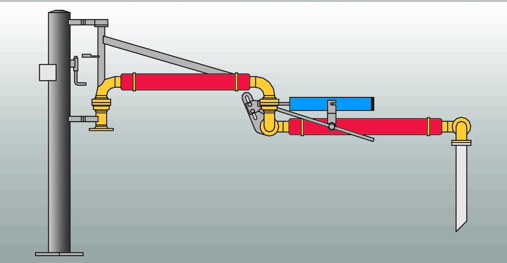AL1402伴熱型鶴管